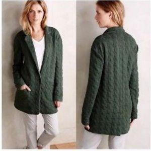 NWOT Cartonnier Oversized Green Slouch Jacket 🌿